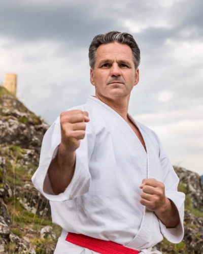 Olivier Knupfer 7e Dan Karate Club Valais Sion Suisse